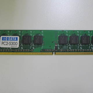 PCメモリ DX667-512M