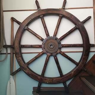 大型船 舵 直径135cm