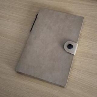 クラフト手帳型/付箋×メモ帳×ボールペンセット