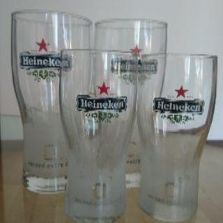 Heineken グラス4個セット