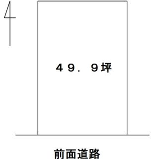 船井郡京丹波町院内・49,9坪・南向き・売土地