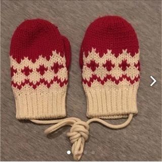 無印良品 ニット手袋