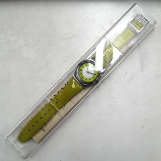 電池切れ Swatch PISTACCHIO YLS105 黄緑 クオーツ ケース付き ☆ PayPay(ペイペイ)決済可能 ☆ 札幌市 清田区 平岡 - 売ります・あげます