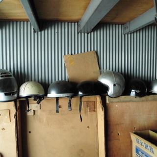 中古ヘルメット色々 半キャップ、おわん、 災害対策等にも