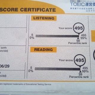 TOEIC満点講師によるSkypeレッスン