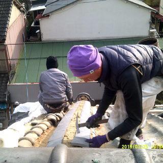 屋根工事承ります