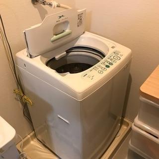 取引先確定。東芝製洗濯機 5kg 2011年製