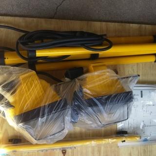 アースマン スタンド付きハロゲン投光器 WL-520 中古