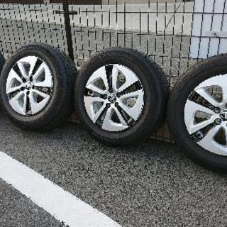 (決まりました)プリウス 50 トヨタノーマルタイヤ