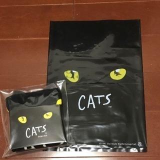 劇団四季.CATSのハンドタオルです。  未開封です。 ケース付...