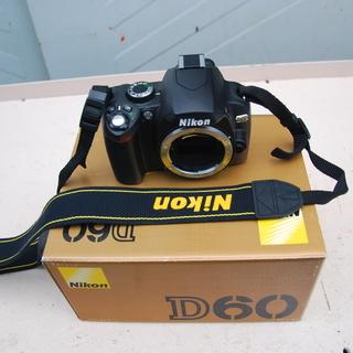 Nikon  D60 デジタル一眼レフカメラ 製品番号 2010...