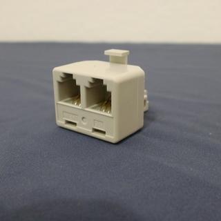 電話配線分配アダプター