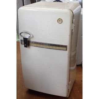 ♪National/ナショナル 昭和30年代 レトロ 冷蔵庫 札幌♪