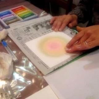 こころ和む「パステル和(NAGOMI)アート」は、指を使ってどなたでも簡単に描けるパステル画です。 - 絵画