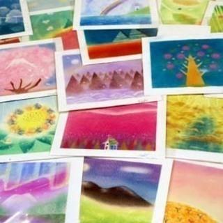 こころ和む「パステル和(NAGOMI)アート」は、指を使ってどなたでも簡単に描けるパステル画です。 - 教室・スクール