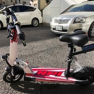 折りたたみ電動バイク
