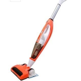 掃除機 3-IN-1 サイクロンスティック オレンジ 充電式クリーナー