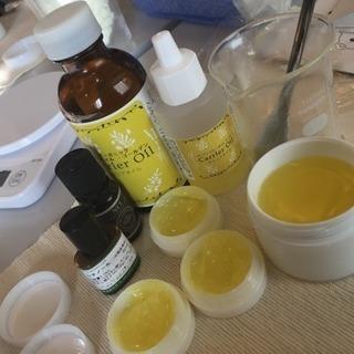 手作り化粧品教室 〜簡単手作りクリームを作ろう〜