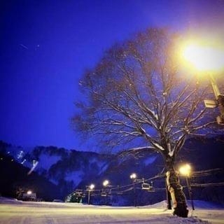 神立高原スキー場でナイター!!