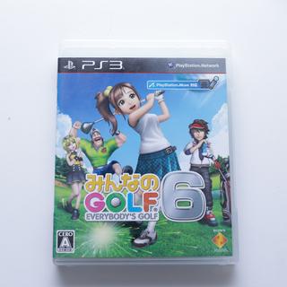 PS3 みんなのゴルフ6 ゲームソフト