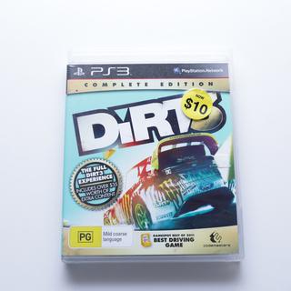 Dirt ディルト ゲームソフト ps3 English var