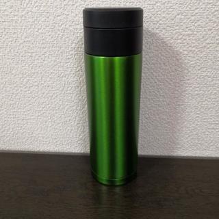 真空ステンレスボトルグリーン
