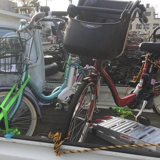 完全メンテナンス済の三人乗り中古アシスト自転車♪