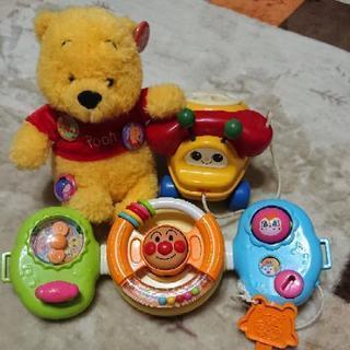 【知育玩具】アンパンマン 手遊びいっぱいくるくるハンドル おまけ付き