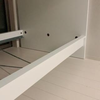 IKEA セミダブル ベッドフレーム