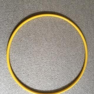 フラフープ 黄色 直径65㎝