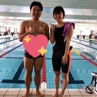 水泳の個人レッスン(競技歴15年、指導歴5年)