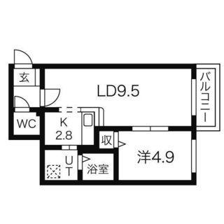 ☆地下鉄北13条東徒歩2分☆1LDK☆ - 賃貸(マンション/一戸建て)