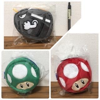 【非売品】スーパーマリオ ちびリュック 3種