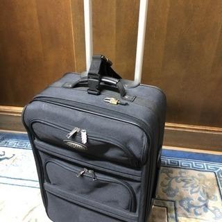 BERGAMDスーツケース難あり中古品オマケ付き