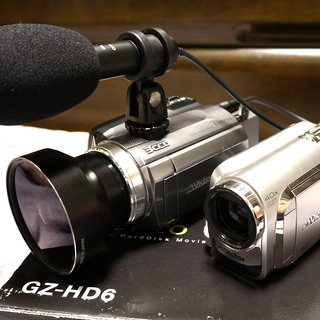【格安】JVC ビデオカメラ 本格的 本体 2個セット HDD ...