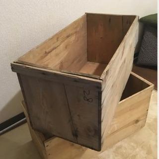 ウッドボックス 木箱 アンティークボックス