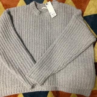 GU モールフェザーヤーンオーバーサイズセーター