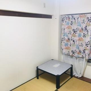 駅徒歩5分 月2.5万円(光熱費込)