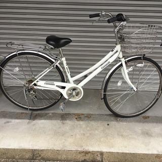 丸石サイクル ギア付き自転車 Formation 26インチ ホワイト