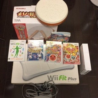 Wii fitと太鼓の達人