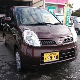 八戸 おいらせ町 日産モコ 4WD AT 車検長 H33.1迄 コ...