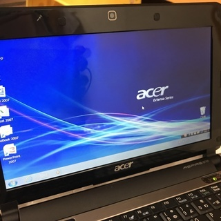 AcerミニノートPC Aspire D150 Windows7