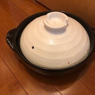 土鍋 24cm 3〜4人用 ぼぼ新品