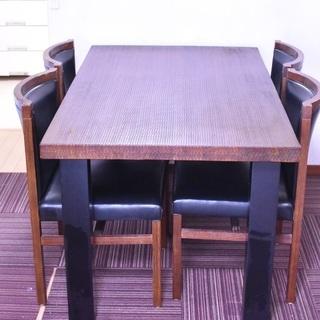 ダイニングテーブル + 椅子4脚