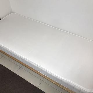 高密度ポケットコイルマットレス & ベッドフレーム