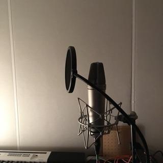 【プロ仕様で低価格】歌やスピーチなどの録音お任せ下さい!