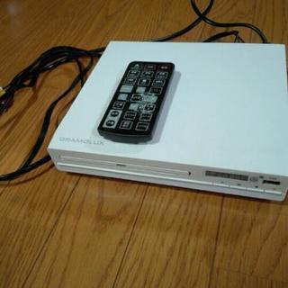 箱なし DVDプレーヤー リモコン要確認!