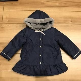 リリーアイボリー 女の子コート 100cm 新品未使用