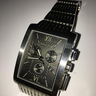✩.*˚GUCCI グッチ メンズ 腕時計 クロノメトロブラック...