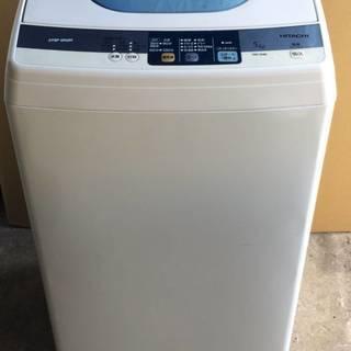 HITACHI 日立 洗濯機 NW-5MR ホワイト 13年製 ...